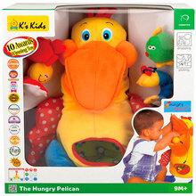 М'яка іграшка K's KIDS Голодний пелікан (KA10208-GB)