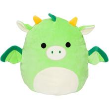 Мягкая игрушка-подушка SQUISHMALLOWS Зелёный дракон Декстер Jazwares (SQIF20-8GD)