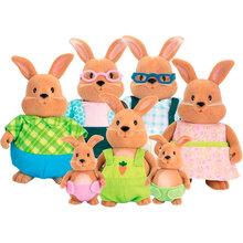Набір фігурок LI'L WOODZEEZ Велика сім'я кроликів (6492D)