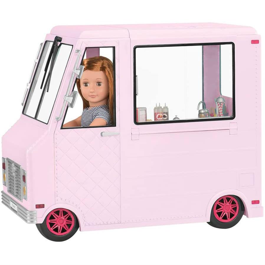 Транспорт для кукол Our Generation Фургон с мороженым (BD37363Z) Тип аксессуары для кукол и пупсов