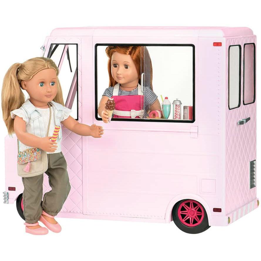 Транспорт для кукол Our Generation Фургон с мороженым (BD37363Z) Для кого для девочек