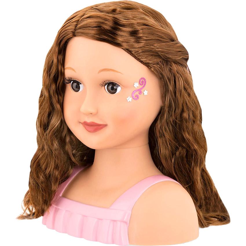 Кукла-манекен OUR GENERATION Модный парикмахер брюнетка (BD31167D) Для кого для девочек