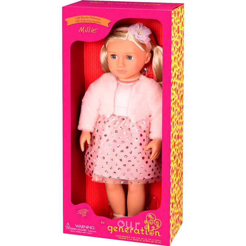 Кукла OUR GENERATION Милли 46 см (BD31252Z) Тип куклы