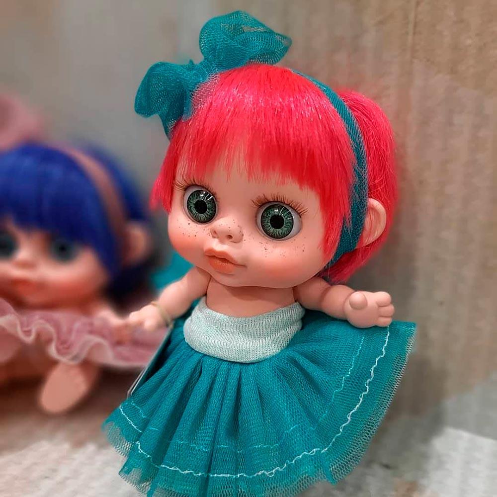 Кукла Berjuan Baby Biggers Pelirrojo с запахом ванили 14 см (BJN-24102) Тип куклы