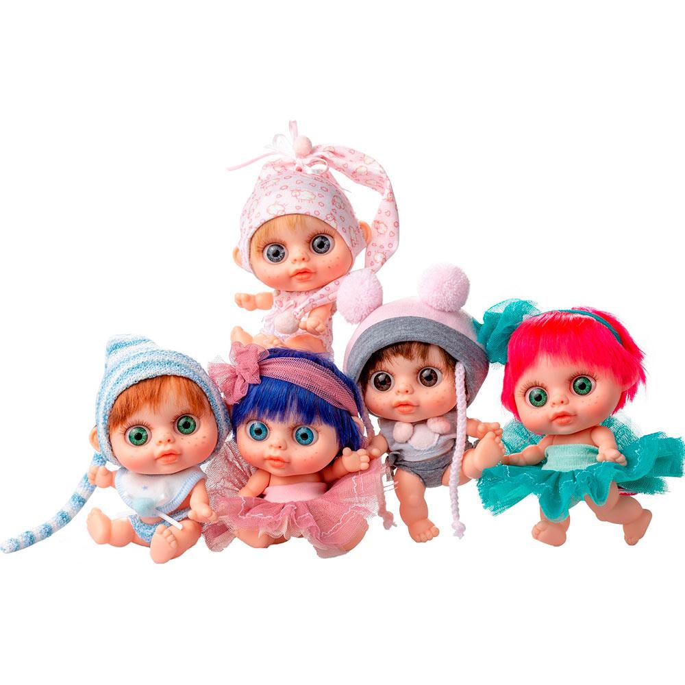 Кукла Berjuan Baby Biggers Pelirrojo с запахом ванили 14 см (BJN-24102) Для кого для девочек