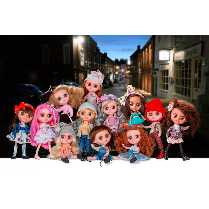 Кукла BERJUAN THE BIGGERS TREBOR FLYNN (BJN-24005) Тип куклы