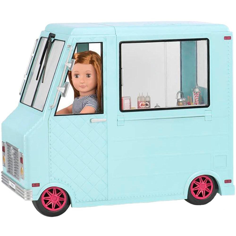 Набор аксессуаров для куклы Our Generation Фургончик с мороженым и аксессуарами (BD37252Z)