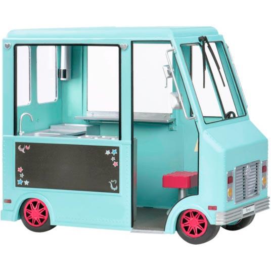 Набор аксессуаров для куклы Our Generation Фургончик с мороженым и аксессуарами (BD37252Z) Для кого для девочек