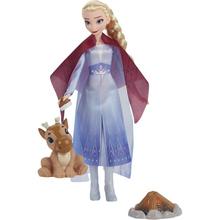 Игровой набор Hasbro Disney Frozen Холодное сердце 2 Эльза с друзьями у костра (F1561_F1582)