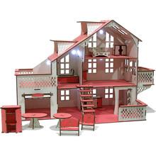 Ляльковий будинок GOODPLAY 85 х 35 х 55 з гаражем і підсвічуванням (В 012)