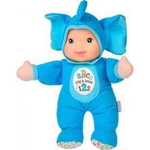 Кукла Baby's First Sing and Learn Пой и Учись Голубой Слоник 30 см (21180-1)