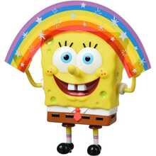 Коллекционная серия SPONGE BOB Masterpiece Memes Collection Rainbow SB (EU691001)