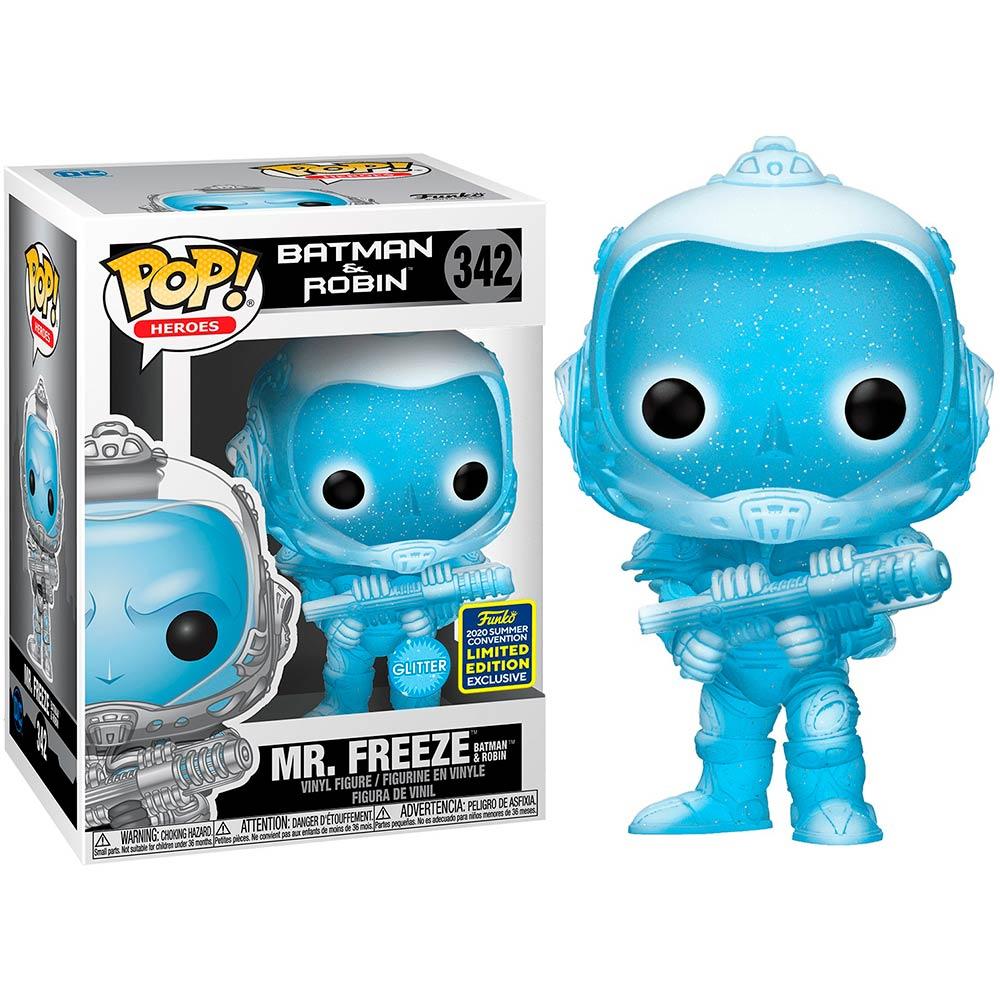 Фигурка FUNKO POP! Viny SDCC DC Batman&Robin Mr. Freeze (FUN2549698) Для кого универсально