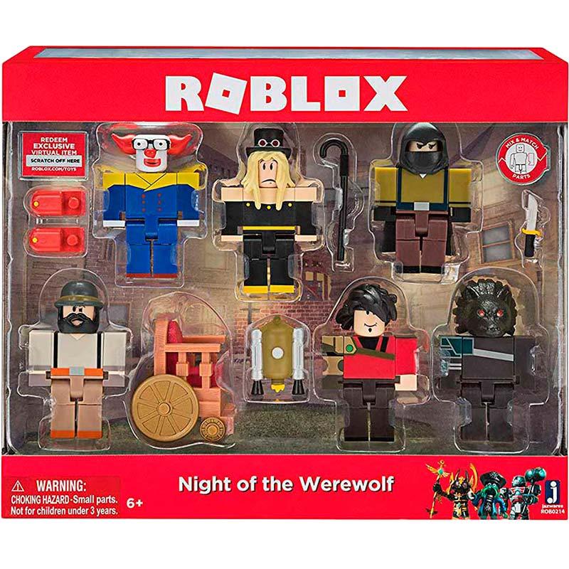 Набор Jazwares Roblox Night of the werewolf (ROB0214) Для кого универсально