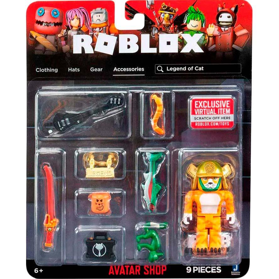 Игровой набор Jazwares Roblox Avatar Shop Legend of Cat (ROB0353) Для кого для мальчиков