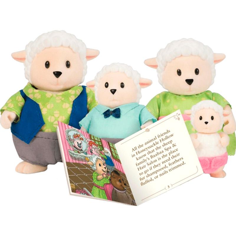 Набор фигурок Li'l Woodzeez Семья овечек (6159Z)