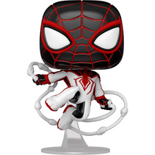 Фігурка FUNKO POP! Bobble Marvel Games Miles Morales Miles T.R.A.C.K. Suit 50153 (FUN2549951)