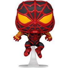 Фігурка FUNKO POP! Bobble Marvel Games Miles Morales Miles S.T.R.I.K.E. Suit 50151 (FUN2549948)