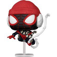 Фігурка FUNKO POP! Bobble Marvel Games Miles Morales Miles Winter Suit 54692 (FUN2549947)
