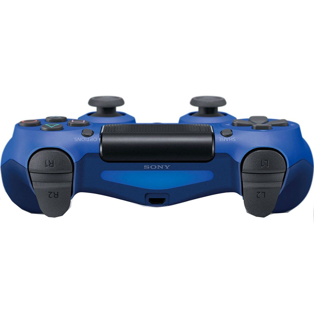 Геймпад SONY PlayStation Dualshock v2 Wave Blue Поколение Playstation 4