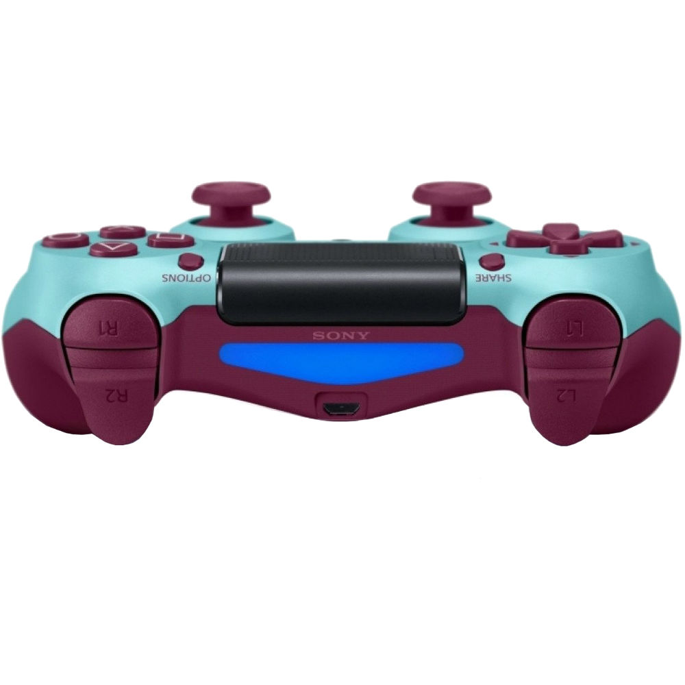 Геймпад SONY PlayStation Dualshock v2 Berry Blue (9718918) Количество кнопок 14