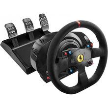 Руль и педали THRUSTMASTER T300 Ferrari Integral RW Alcantara edition (4160652)