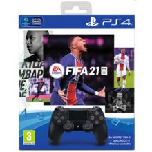 Геймпад PS4 Dualshock v2 LE + Игра FIFA21 (9835325)