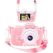 Чехол и ремешок XoKo KVR-001 для цифрового детского фотоаппарата Pink (KVR-001-CS-PN)