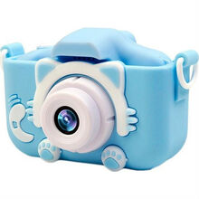 Чехол и ремешок XoKo KVR-001 для цифрового детского фотоаппарата Blue (KVR-001-CS-BL)