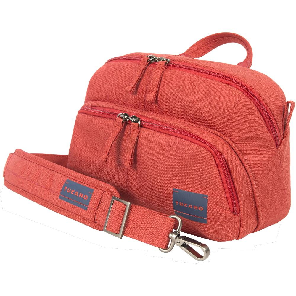 Сумка для фотоаппарата TUCANO Contatto Digital Bag Medium Red (CBC-M-R) Внутренний размер 265 x 165 x 95 мм