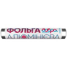 Пищевая фольга ДОБРА ГОСПОДАРОЧКА 9 мкм 20м + 2м (4820086520317)