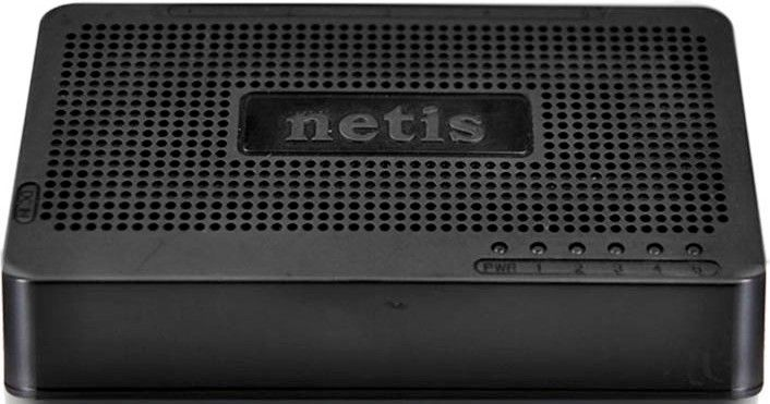NETIS ST3105S 5 Ports 10/100Mbps Fast Ethernet Switch