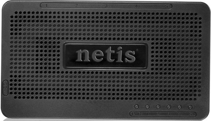NETIS ST3105S 5 Ports 10/100Mbps Fast Ethernet Switch Тип неуправляемый