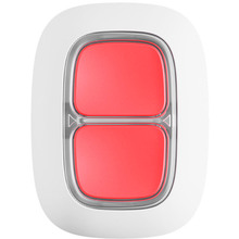 Беспроводная тревожная кнопка AJAX DoubleButton Белая