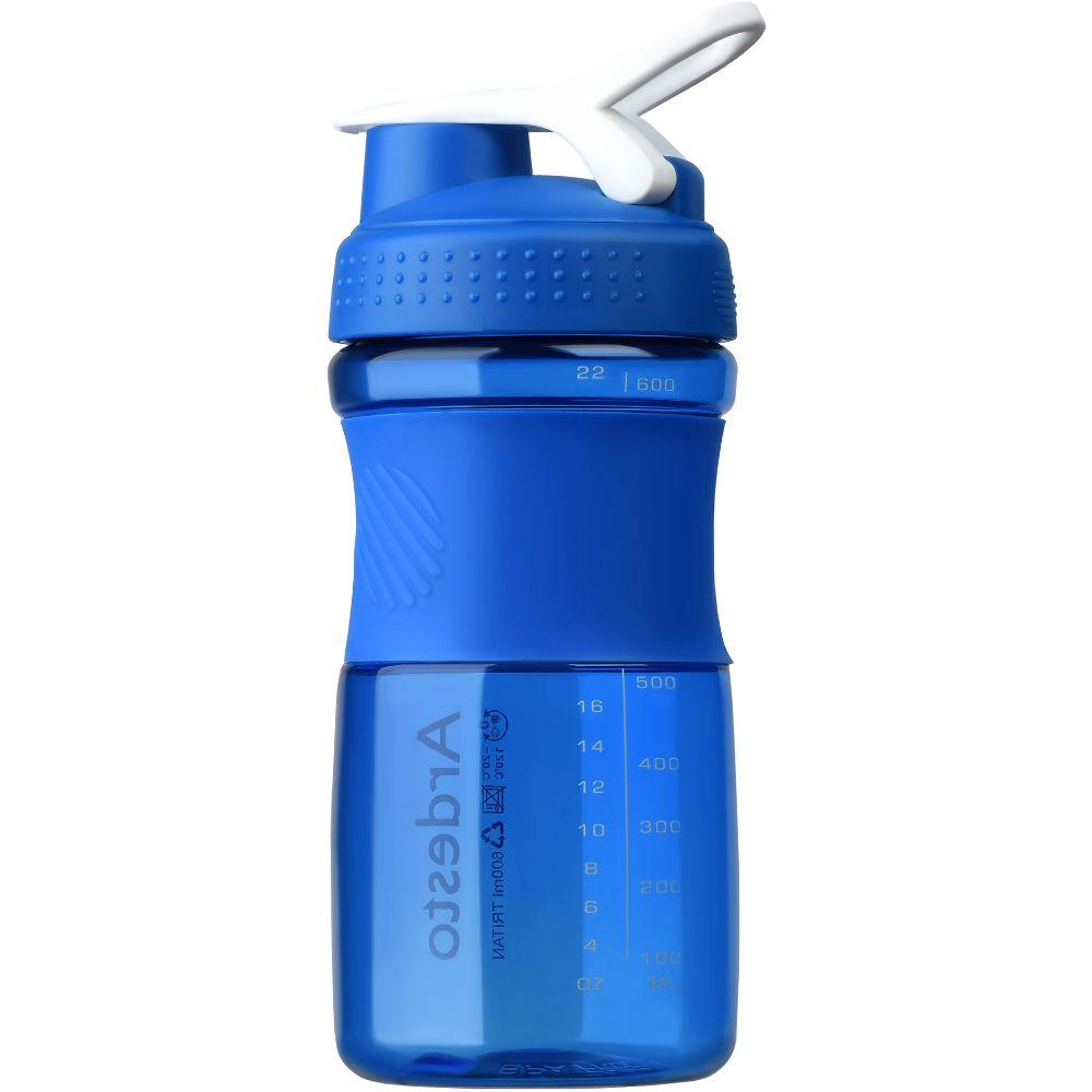 Бутылка для воды Ardesto Smart Bottle 600 мл Blue (AR2202TB) Тип спортивная
