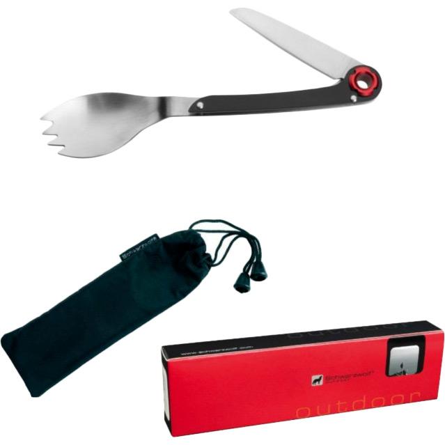 Мультитул SCHWARZWOLF LATEMAR (F4800300AJ3) Инструменты в комплекте вилка/ложка, нож