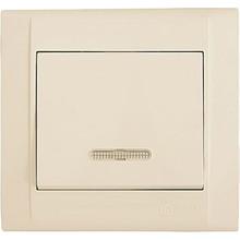 Выключатель 1-клавишный Makel Defne с подсветкой (42010021)