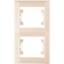 Рамка подвійна вертикальна MAKEL (42010707)