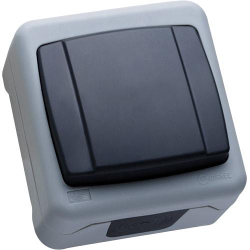 Вимикач MAKEL 1-клавішний прохідний (36064005)