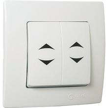 Выключатель MAKEL 2-клавішний (32001026)