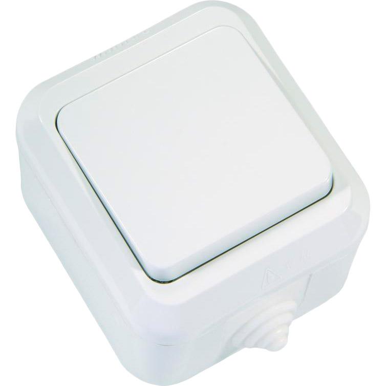 Выключатель MAKEL 1-клавишный White (18300)