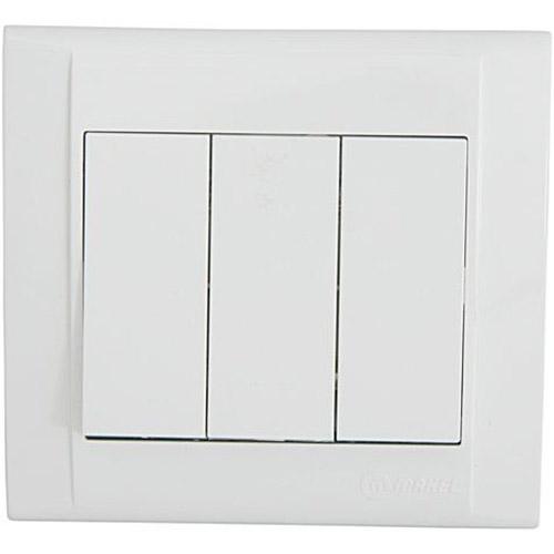 Выключатель 3-клавишный MAKEL 1 вход 3 выхода (42001091)