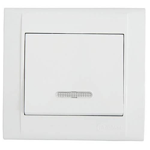 Выключатель MAKEL проходной с подсветкой (42001025)