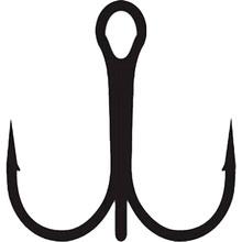 Гачок-трійник Lineaeffe KAPTURA Black Nickel № 4 1 шт (7954904)