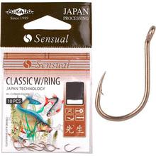 Набір гачків MIKADO Sensual Classic №4 10 шт Bronze (HS039-4LBR)