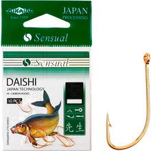 Набор крючков MIKADO Sensual Daishi №6 10 шт Gold (HS013-6G)
