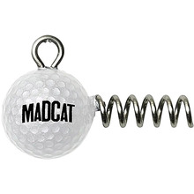 Головка-штопор DAM MADCAT Golf Ball Screw-In Jighead 80 гр 2 шт (65692)