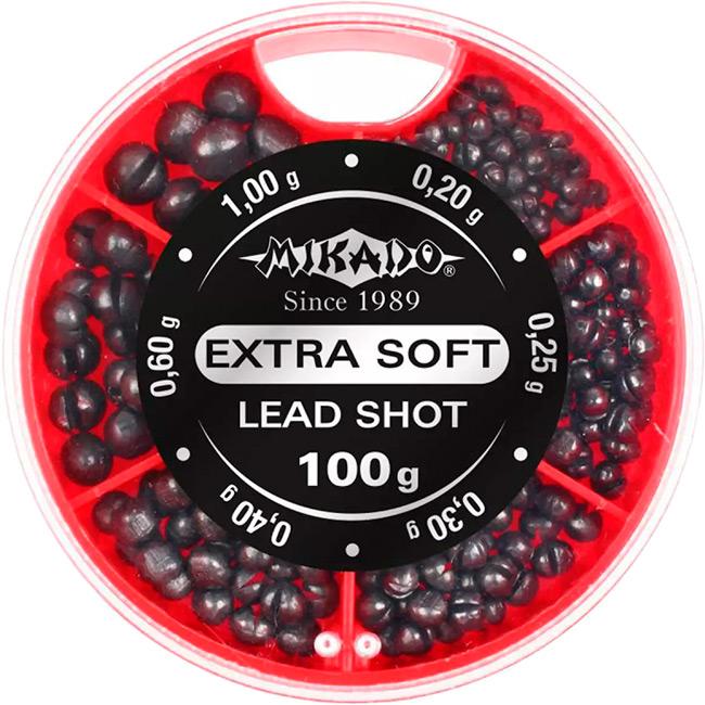 Набор грузов MIKADO Extra Soft Lead Shot 100 г (OMS-DA-100)