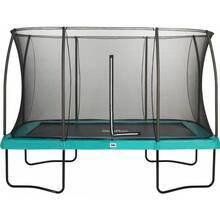 Батут SALTA Comfort Edition прямокутний 366 x 244 см Green (5093G)