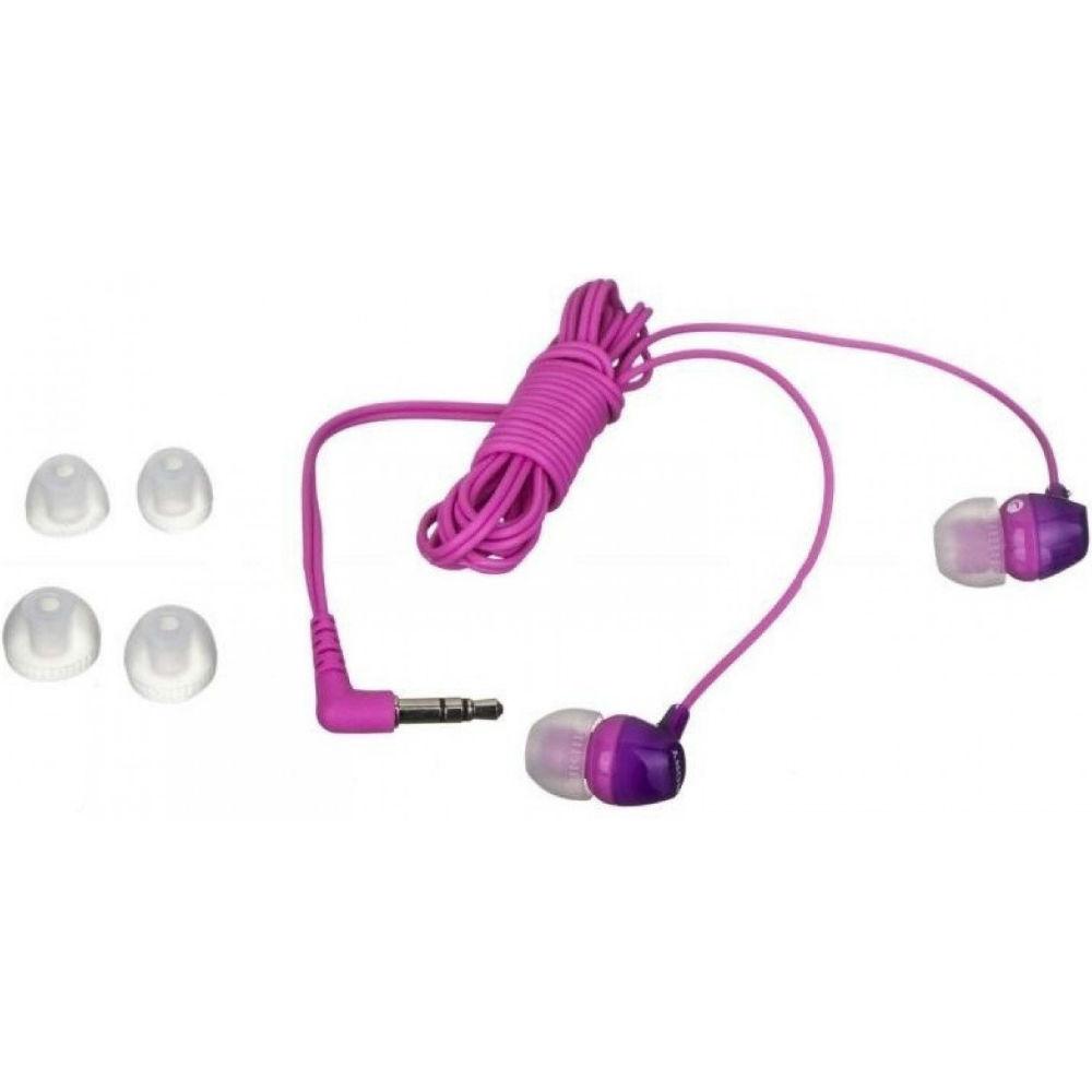 Наушники SONY MDR-EX15LP Violet Конструкция внутриканальные (в ушной канал)